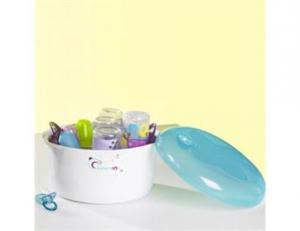 Microwave sterilizer blue/purple