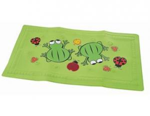 Bathmat with thermometer Frog