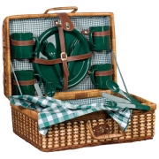 Alligator Picnic basket for 4