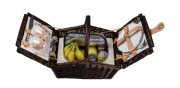 Alligator Luxury Picnic basket for 2