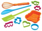 Kitchencraft Let's Make Children's 10 Piece Baking Set