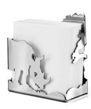 Carrol Boyes Note Paper Holder – Rhino. 25% of proceeds donated to WWF