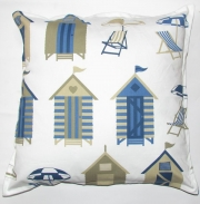 Grey Gardens cushions Nautical - Beach hut beige