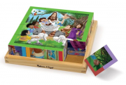 Melissa and Doug New Testament Cube Puzzle