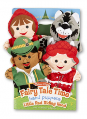 Melissa and Doug Little Red Riding Hood Hand Puppets