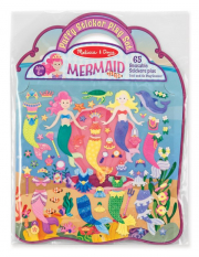 Melissa and Doug Puffy Sticker Play Set - Mermaid