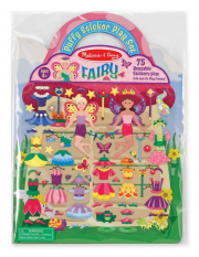 Melissa and Doug Puffy Sticker Play Set - Fairy