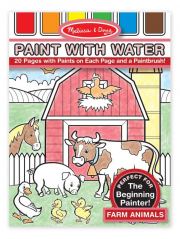 Melissa and Doug Paint with Water - Farm Animals