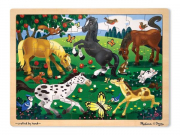 Melissa and Doug Frolicking Horses (48 pc)