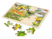 Melissa and Doug Pets Wooden Jigsaw 24pc puzzle