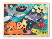 Melissa and Doug Under the Sea Wooden Jigsaw 24 pc