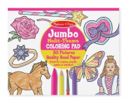 Melissa and Doug Jumbo Pad Pink