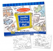 Melissa and Doug Jumbo Pad Blue