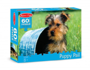 Melissa and Doug Puppy Pail Jigsaw Puzzle (60 pc)
