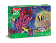 Melissa and Doug Coral Reef (100pc) Jigsaw Puzzle