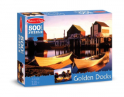 Melissa and Doug Golden Docks (500pc) Jigsaw Puzzle