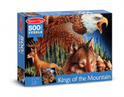 Melissa and Doug King of the Mountain (500pc) Jigsaw Puzzle