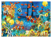 Melissa and Doug Shipwreck Reef 1500 pc puzzle