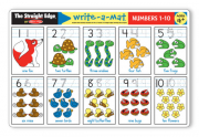 Melissa and Doug Numbers 1-10 Write-A-Mat (Bundle of 6)
