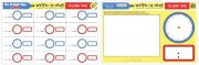 Melissa and Doug Telling Time Write-A-Mat (Bundle of 6)