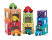 Melissa and Doug Nesting & Sorting Garages & Cars