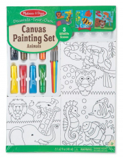 Melissa and Doug Canvas Painting Set - Animals