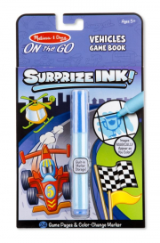 Melissa and Doug Surprize Ink Book – Vehicles