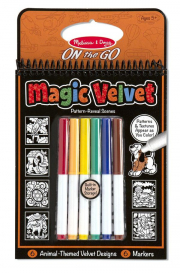 Melissa and Doug Magic Velvet - Animal