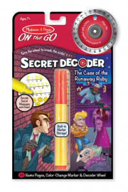 Melissa and Doug Runaway Ruby Secret Decoder Set