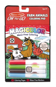 Melissa and Doug Magicolour Pad - Farm Animals On the Go
