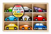 Melissa and Doug Wooden Cars Set