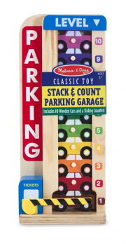 Melissa and Doug Counting Vehicle Parking Garage