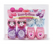 Melissa and Doug Dress-Up Shoes - Role Play Collection