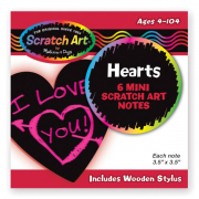 Melissa and Doug Scratch Magic Love Notes