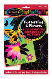 Melissa and Doug Colour Reveal Butterflies and Flowers