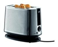 Bodum Toaster, chromed plated Stainless Steel - shiny